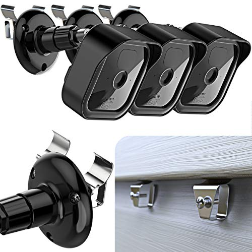 Blink Outdoor Vinyl Siding Mount with Waterproof Case, No-Hole Needed Mounting Bracket and Full Weather Proof Cover for All-New Blink Outdoor Security Camera System 2020 (3 Pack)