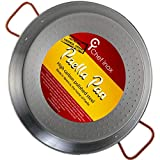 Garcima La Ideal Polished Steel Paella Pan 30cm