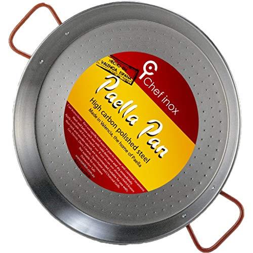 Paelleras El CID 5020063Paellapfanne Valenciana 30 cm silber