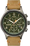 Timex Orologio Cronografo Quarzo Uomo con Cinturino in Pelle TW4B04400