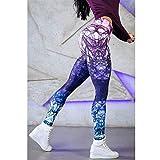 Polainas IBHT Yoga Pantalones, cintura alta de la panza de control medias Leggins Leggings...