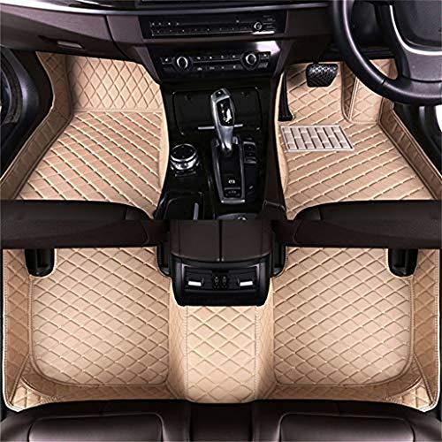 FFHJHJ 3D Tappetini Auto per Suzuki SX4 2007-2017,Tappetini Auto in Pelle Personalizzati Piedi Impermeabili Resistenti Ai Graffi