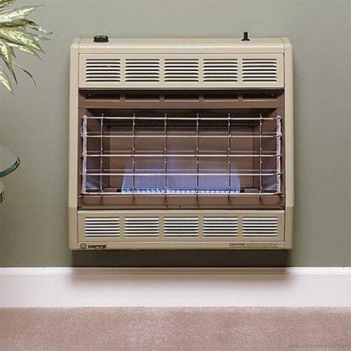 Empire Vent-Free Blue Flame Heater LP 30000 BTU, Thermostatic Control
