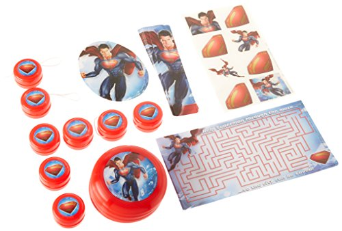 Hallmark BB1TPE3896 Superman Party Favor Pack - 48 Piece