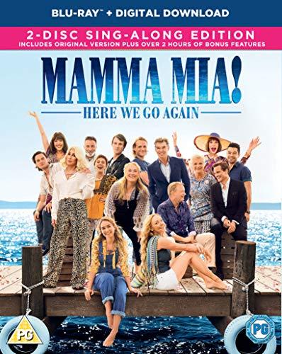 Mamma Mia! Here We Go Again (Blu-ray + Digital Download) [2018] [Region Free]