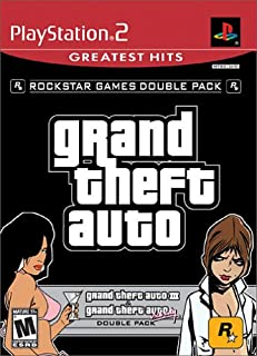 Grand Theft Auto Double Pack: Grand Theft Auto III / Grand Theft Auto Vice City - PlayStation 2