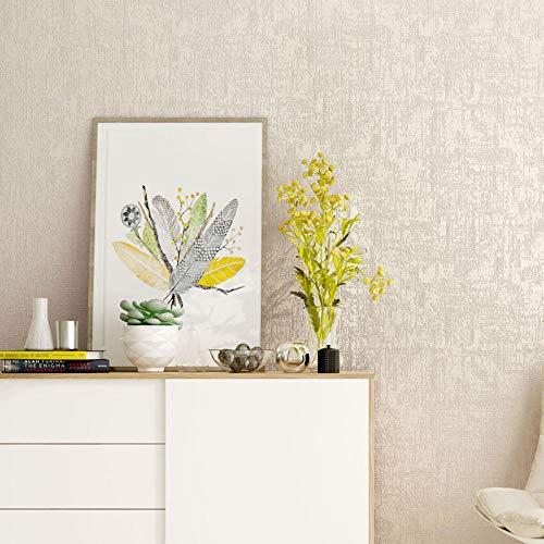 ZXCCX Einfache moderne reine Pigmentfarbe Vliestapete Tapete 3d Schlafzimmer Wohnzimmer TV Hintergrundbild Nachahmung Kieselgur Schlamm @ Z83