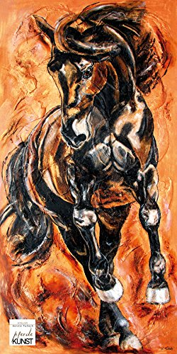 Pferdebild auf Leinwand, Nr. 01-01, Größe: 120 x 60 cm I Atelier Kerstin Tschech