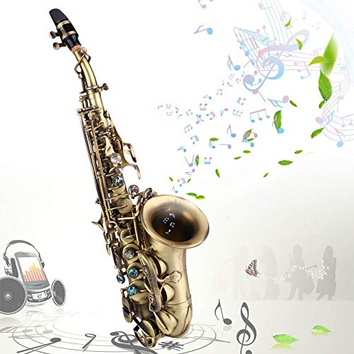 Fendysey Saxofón Duradero, saxofón Antiguo, Familia para Amigos, niños Profesionales