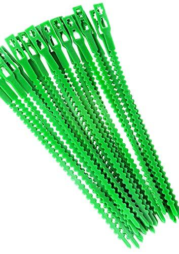 Vilmorin 40 Liens Plastique 23 Cm VL Kits pour semis, Noir