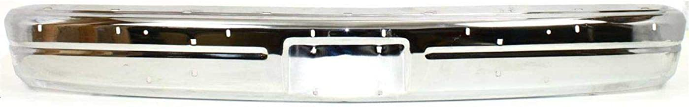 Front Bumper for 91-93 Dodge D250 W250 Chrome Steel