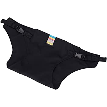 ALSKY チェアベルト セーフテ,安全な固定ベルト ストラップ ハーネス 赤ちゃん食事用補助ベルト ,携帯型食事 ベビーチェア小物 (ブラック)