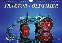 Traktor - OldtimerAT-Version (Wandkalender 2021 DIN A4 quer): Peter Roder - eine Sammlung seiner faszinierenden Bilder nostalgischer Traktoren (Monatskalender, 14 Seiten )