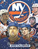 NY Islanders 2022 Calendar: 18-month Calendar from Jul 2021 to Dec 2022 with size 8.5x11 inch for all fans