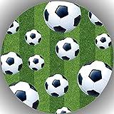 Premium Esspapier Tortenaufleger Tortenbild Geburtstag Fussball T19