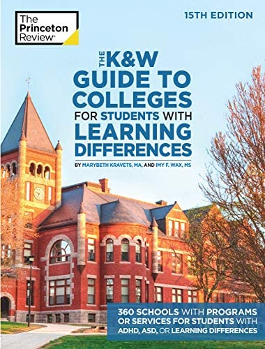 The K W Guide to Colleges for Students with Learning Differences 15th Edition 325 Schools with product image