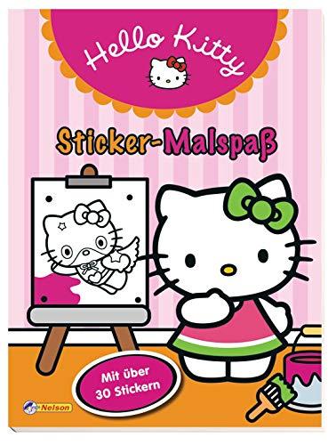 Hello Kitty: Sticker-Malspaß: mit über 30 Stickern