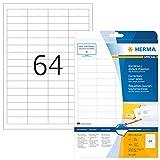 HERMA 4226 Abdeck-Etiketten DIN A4 blickdicht...