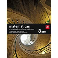 Matemáticas orientadas a las enseñanzas académicas. 3 ESO. Savia - 9788467576221