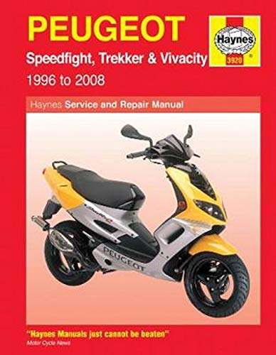 Mather, P: Peugeot Speedfight, Trekker & Vivacity Scooters (: 1996 to 2008 (Haynes Powersport)