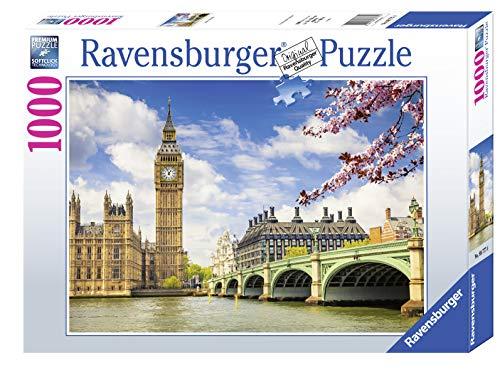 Ravensburger, Puzzle 1000 Pezzi, Londra - Big Ben, Puzzle per Adulti, Linea Foto & Paesaggi, Relax, Stampa di Alta Qualità, Dimensioni 70x50 cm
