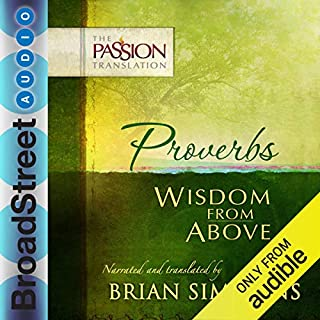 Proverbs: Wisdom from Above (The Passion Translation) Titelbild