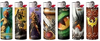 5 BIC Special Edition Supernatural Fantasy Series Lighters