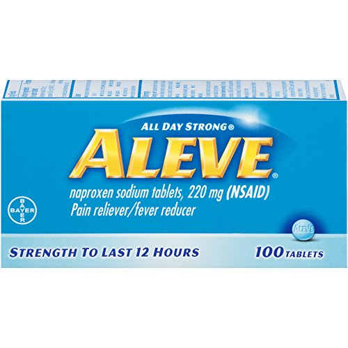Aleve Pain Reliever Fever Reducer Tablets - 100 Ea