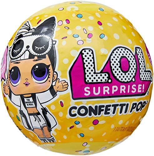 Boneca Lol Confetti Pop 9 Surpresas Candide Amarelo