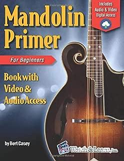 Mandolin Primer Book for Beginners (Video & Audio Access)