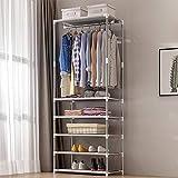 Perchero de metal Standm, organizador de entrada multifunción, de pie, ideal para pasillo, baño, sala de estar, pasillo