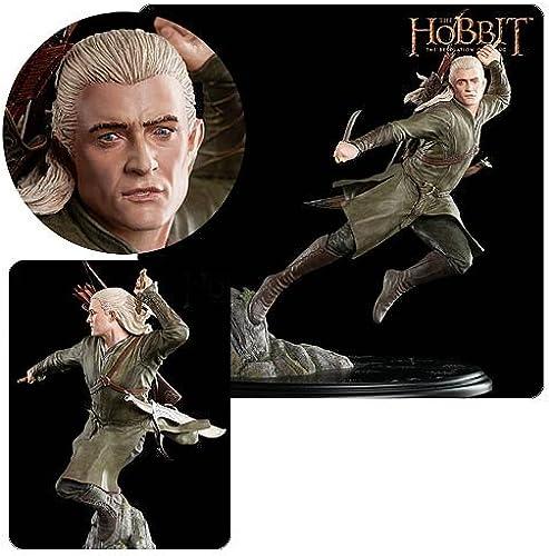Der Hobbit Smaugs Ein e Statue 1 6 Legolas Grünblat30cm