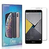 Conber [4 Stück] Displayschutzfolie kompatibel mit Huawei Honor 6X, Panzerglas Schutzfolie für Huawei Honor 6X [9H Härte][Hüllenfreundlich]