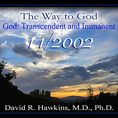 Couverture de The Way to God: God: Transcendent and Immanent