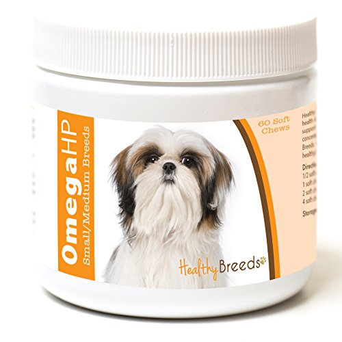 Healthy Breeds Omega HP Fish Oil Skin & Coat Supplement Soft Chews