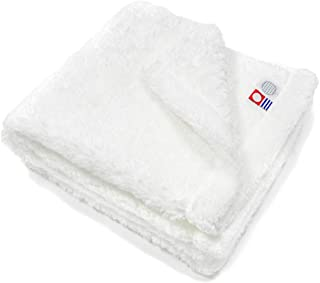 伊織 今治タオル yume -the soft towel- (フェイスタオル, ホワイト)