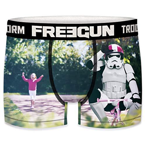 Freegun Herren Boxershorts Stormtrooper Shepperton Design Studios Gr. S, Bike.