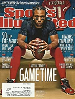 Larry Fitzgerald, Arizona Cardinals wideout on cover, Sports Illustrated, August 1, 2011 issue.