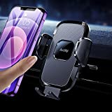 Auckly Support Telephone Voiture, [Silicone airbag] Porte Portable Voiture Support Smartph...