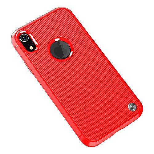 Funda iPhone XR, Carcasa Silicona Suave, Anti-rasguños Protección Teléfono Case Simple Fácil...