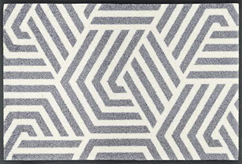 Wash + Dry Matte, Grau, 50 x 75 cm