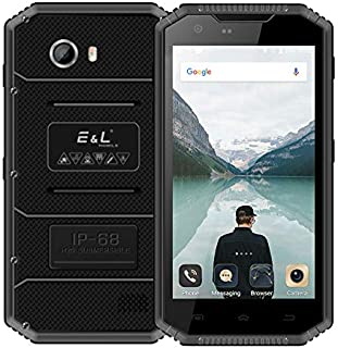 Shenzhen brand smartphone Proofing W7S, 2GB+16GB, IP68 Waterproof Shockproof Dustproof, 5.0 inch Android 6.0 MTK6737 Quad Core up to 1.3GHz, Network: 4G, MIL-STD-810G Certification(Black)