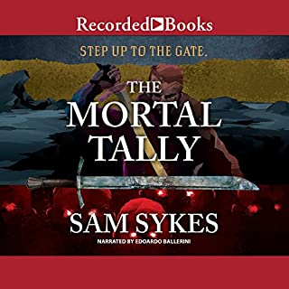 The Mortal Tally audiobook cover art
