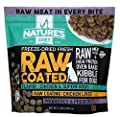 Nature's Diet Freeze-Dried Fresh Raw Coated Chicken, Bone Broth & Superfoods Kibble with Probiotics, Prebiotics & Freeze-Dried Chicken Liver