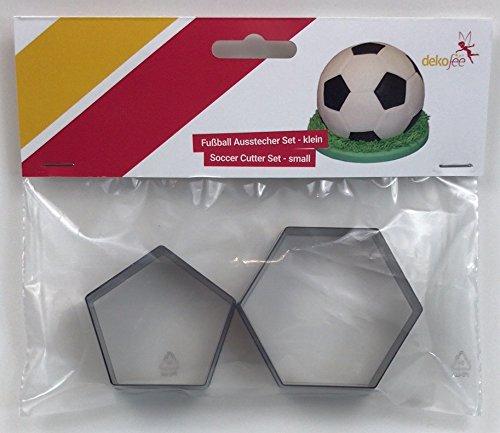dekofee Ausstecher Kunstoff für einen Fussball, Kunststoff, 15cm