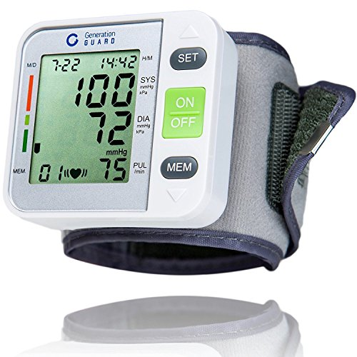 Lowest Price! Clinical Automatic Blood Pressure Monitor FDA Approved by Generation Guard with Large ...