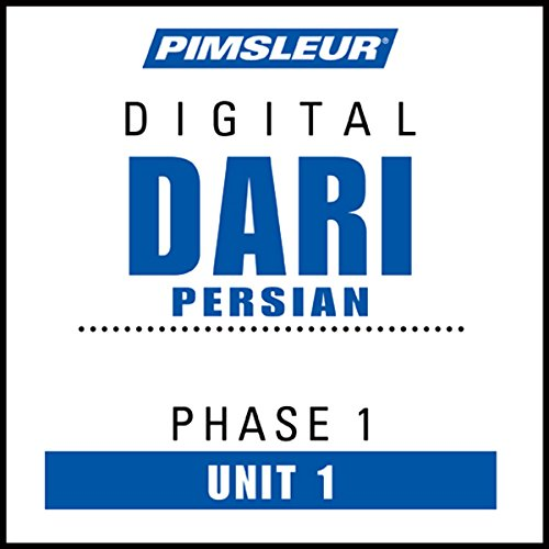 Dari Persian Phase 1, Unit 01 audiobook cover art