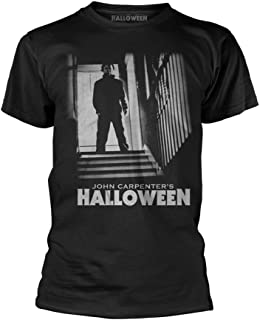 John Carpenters Halloween Michael Myers Stand Official Tee T-Shirt Mens Unisex