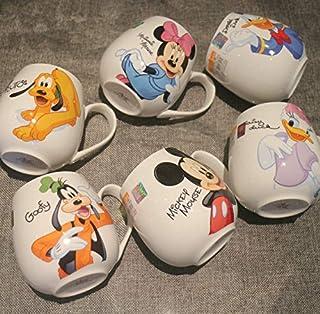b0c9e1927 Taza Venta Caliente Taza De Dibujos Animados Mickey Minnie Tazas De  Cerámica Leche 420 Ml Moda