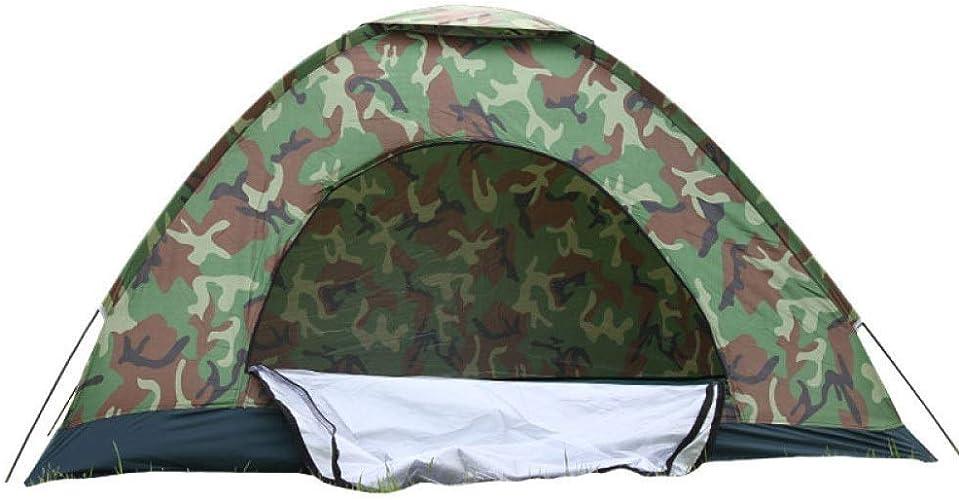 BEANCHEN Anti-Moustique de Tente imperméable extérieure de Camouflage pour Le Parc de pêche de Plage de Famille de Parcravate, 3-4 Personnes